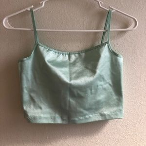 American Apparel Spandex Crop Top